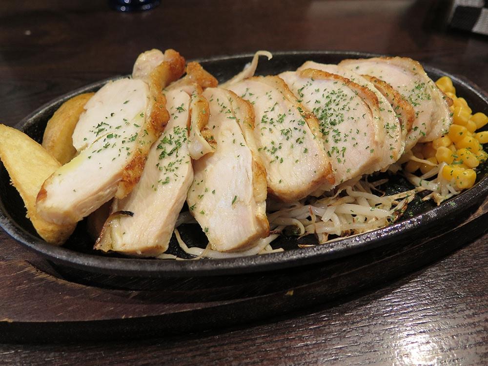 鶏ムネ肉ステーキ