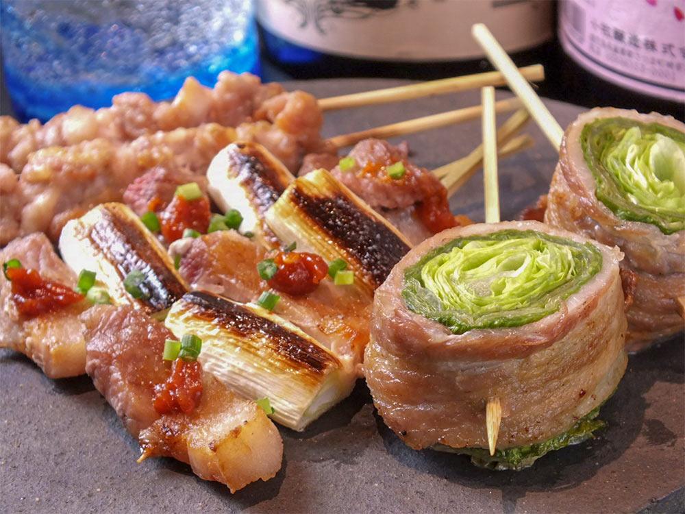 野菜肉巻串